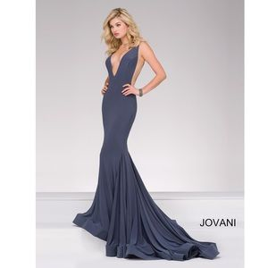 JOVANI Jersey Gown 46756